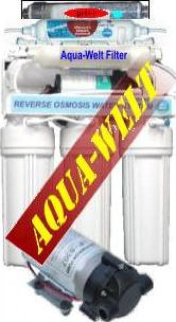 Filtru de apa purificator cu osmoza inversa AWRO9UVP pH++ de la Welthaus Srl