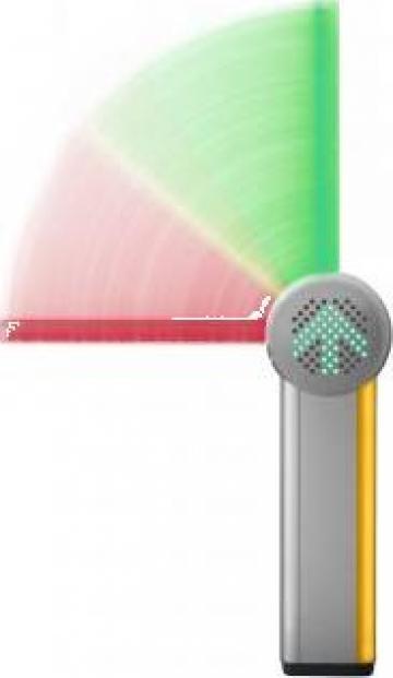 Bariera auto Skidata Barrier Gate LED RGB de la Parking Experts Srl