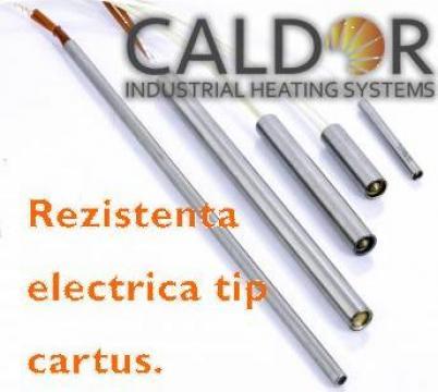Rezistenta electrica de incalzire cartus D10L40W200 de la Caldor Industrial Heating Systems Srl