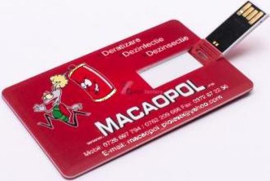 Stick de memorie USB card credit de la Artmedia Star Group