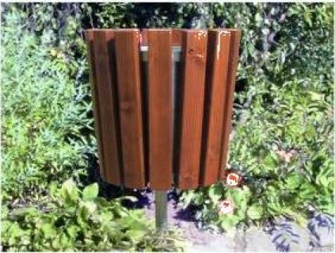 Cos de gunoi de parc L998 de la Ygrocris Dorally Steel Srl