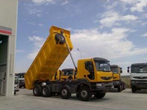 Sistem hidraulic pentru camion 8x4 de la Sisteme Hidraulice Srl