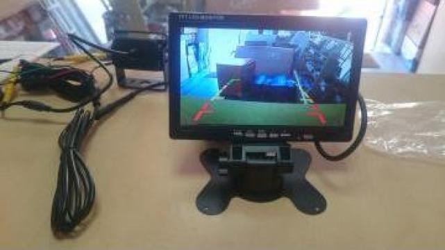 Set camera marsarier si monitor 7inch pentru dube