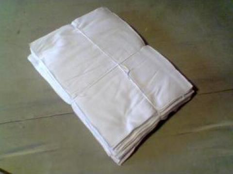 Lavete albe din bumbac de la Nortia Company