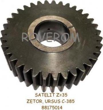Satelit Z=35 reductor roata fata Zetor, Ursus C-385