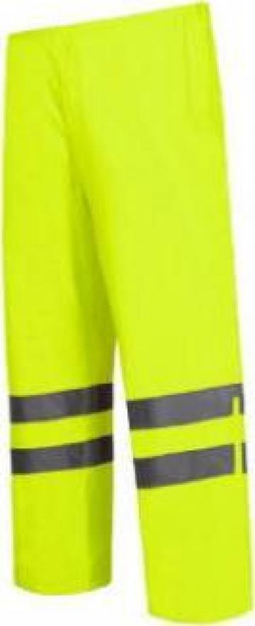Pantalon reflectorizant impermeabil / verde