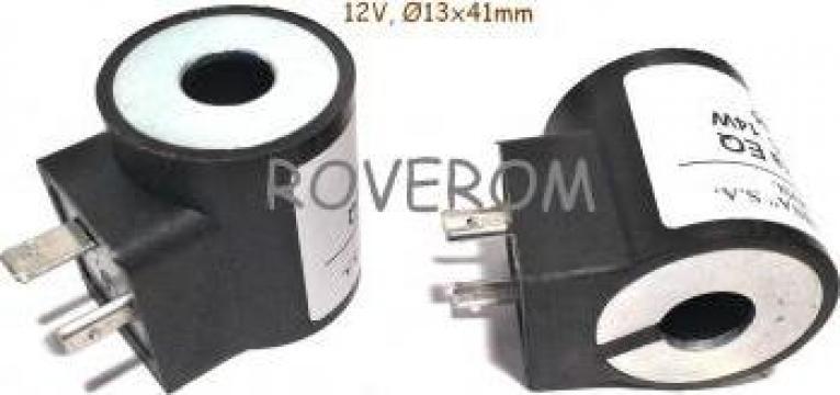 Bobina 12V, D13x41mm, electrovalva hidraulica