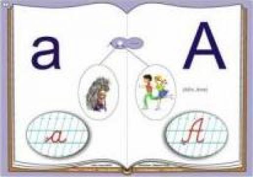 Alfabet - planse recunoastere sunete si invatare litere