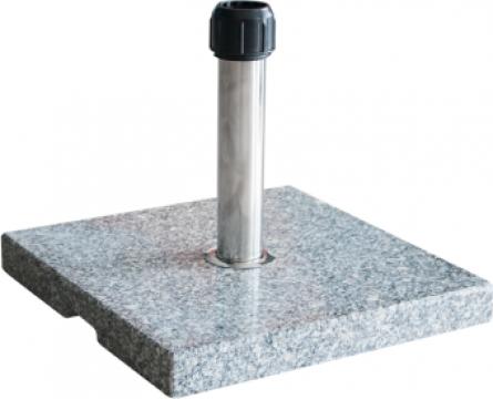 Suport patrat umbrela soare 30kg marmura de la Basarom Com