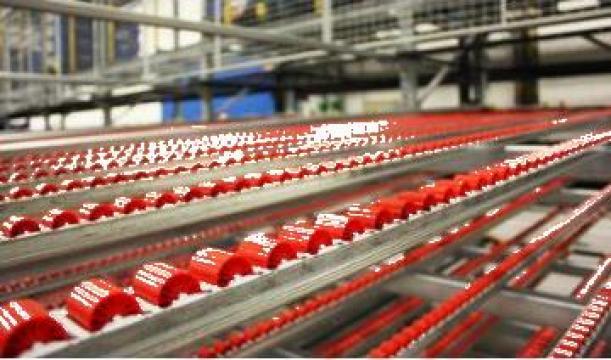 Sistem depozitare fluxul ambalajului pentru piese mici de la Dexion Storage Solutions Srl