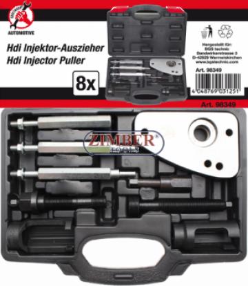 Set extractor injectoare HDi Bosch si Siemens, motoare PSA 2 de la Zimber Tools