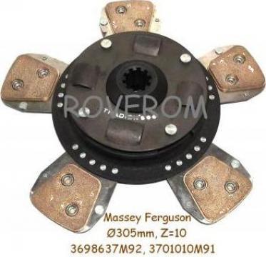 Disc ambreiaj Massey Ferguson (305mm, Z=10)