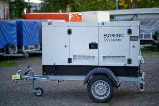 Inchiriere generator 20 KW (25KVA) de la Inchirieri Remorci Berceni