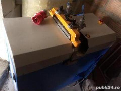 Masina de taiat baghete PVC si compresor Fiac de la