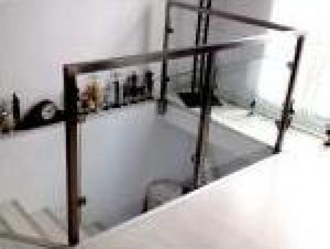 Balustrade inox satinat de la Inomet Design Srl