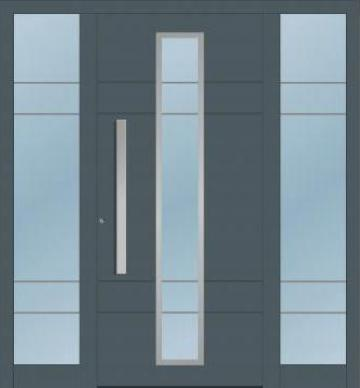 Usi exterior aluminiu rupere termica de la Door System