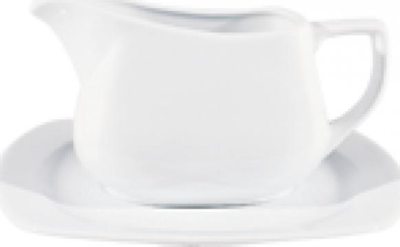 Farfurie suport din portelan 20cm colectia Gala de la Basarom Com