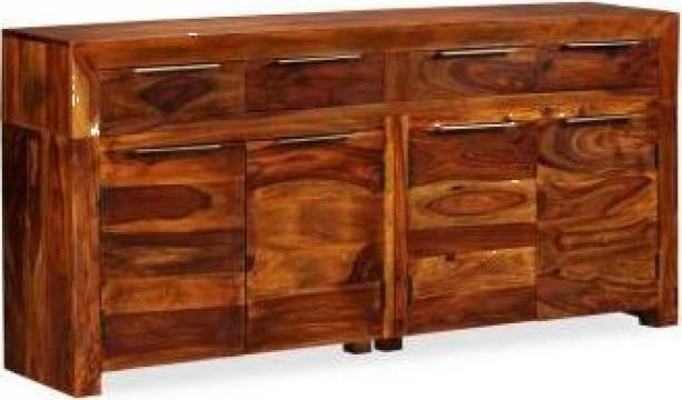 Servanta din lemn masiv de sheesham, 160 x 35 x 75 cm de la Vidaxl