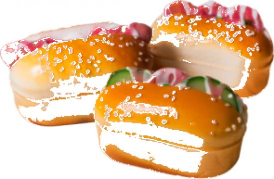 Figurina decorativa forma de mini sandwich Raki de la Basarom Com