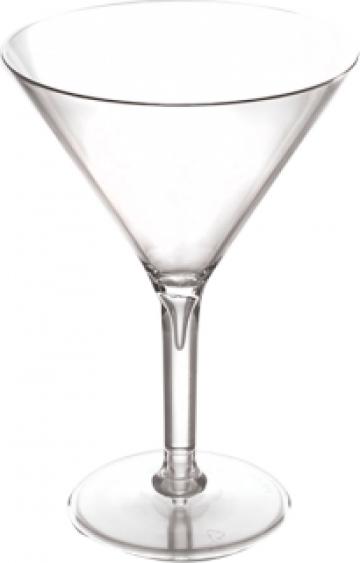 Pahar pentru martini policarbonat 280ml Premium de la Basarom Com
