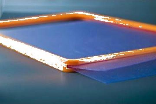 Buzunar plastic antireflex pentru rame ABS