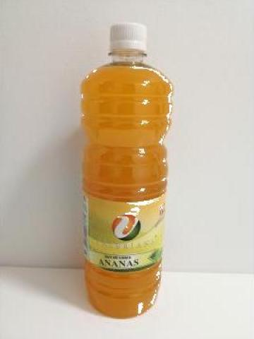 Sirop pentru granita 1 litru ananas de la Cristian Food Industry Srl.