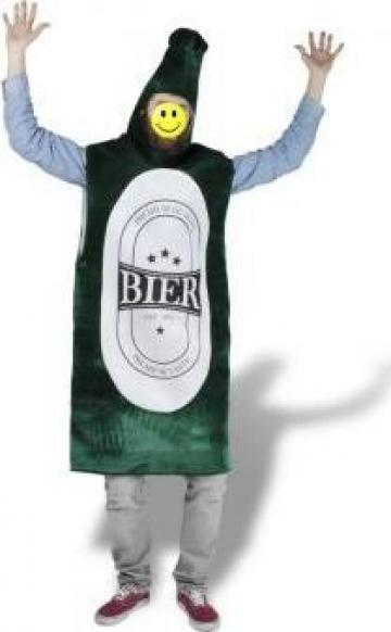 Costum de carnaval sticla de bere marimea M-L de la Vidaxl