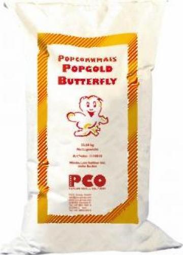 Porumb pentru popcorn Butterfly 22,68 kg de la Cristian Food Industry Srl.