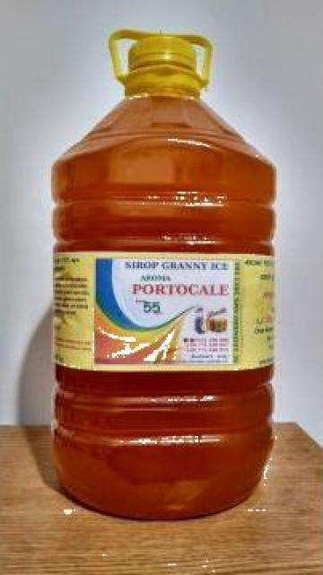 Sirop granita 5 l - aroma de portocale