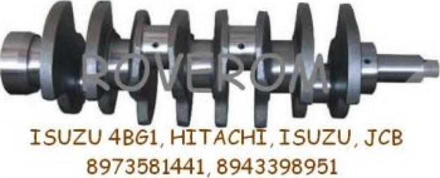 Arbore cotit Isuzu 4BG1, Hitachi, Isuzu, JCB de la Roverom Srl