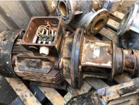 Bobinaj pompa centrifuga 11 kw, inlocuire rulmenti de la Baza Tehnica Alfa Srl