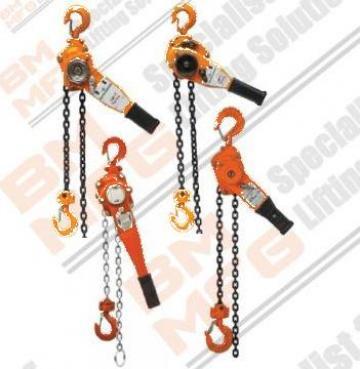 Palan manual cu lant si levier HSH-A de la Booming Machinery MFG S.r.l.