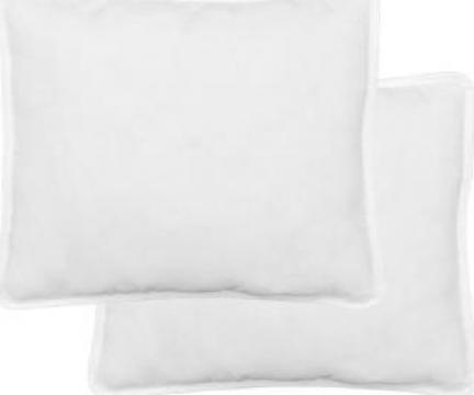 Perna 60 x 70 cm, alb, 2 buc. de la Vidaxl