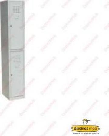 Dulap metalic vestiar - 2 usi de la Distinct Mob SRL