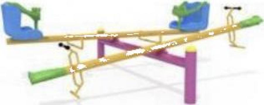 Balansoar dublu baby / balansoar pe arc de la Miracons Proiect Srl