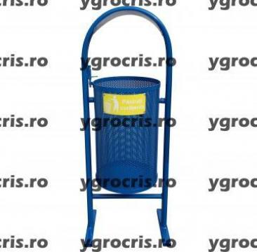 Cos de gunoi din tabla perforata 970 de la Ygrocris Dorally Steel Srl