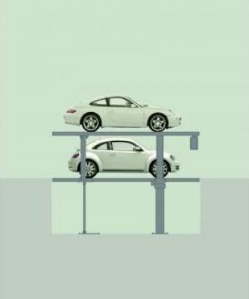 Sistem de parcare analog de la Premium Lift International Srl