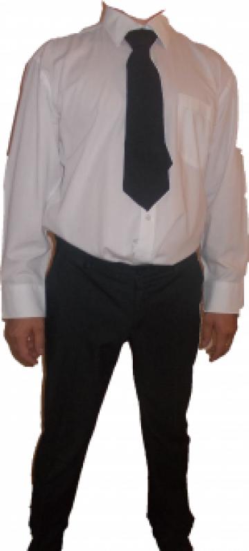 Camasa alba agent de paza de la Johnny Srl.