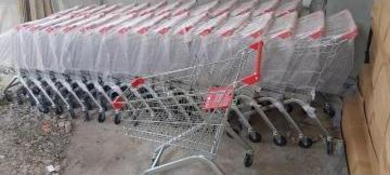Carucior nou de supermarket 90 L de la Romtrend Srl.