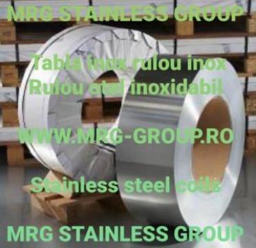 Tabla rulou inox, otel inoxidabil, tabla, bara, teava de la MRG Stainless Group Srl