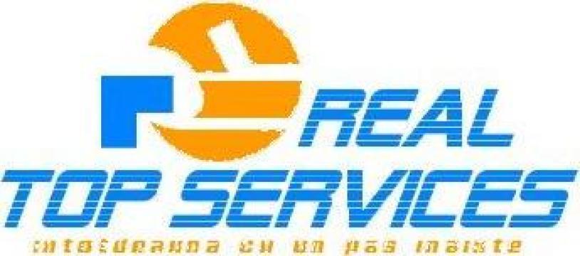 Gazduire sediu social Bucuresti de la Real Top Services Srl