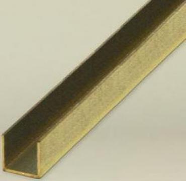 Profil U alama 20x20x20, canal U alama, profile aluminiu