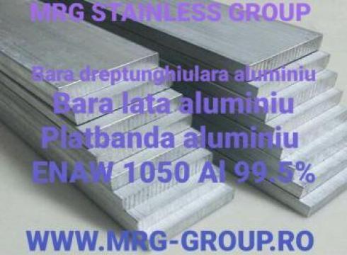 Bara aluminiu dreptunghiulara electricitate 100x10mm moale