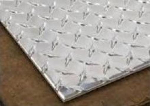 Tabla aluminiu striata 1.5mm Diamant Stea Diamond Quintett 5 de la MRG Stainless Group Srl