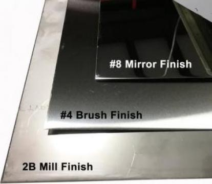 Tabla inox 3x1250x2500mm mata oglinda satinata perforata de la MRG Stainless Group Srl