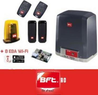 Automatizare poarta culisanta 400 kg BFT de la Master Security Instal Srl