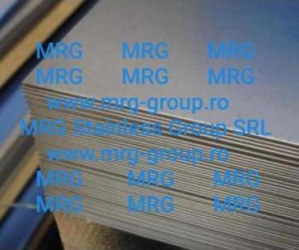 Placa inox 6mm tabla inox mata laminata la cald F1 rece 2B