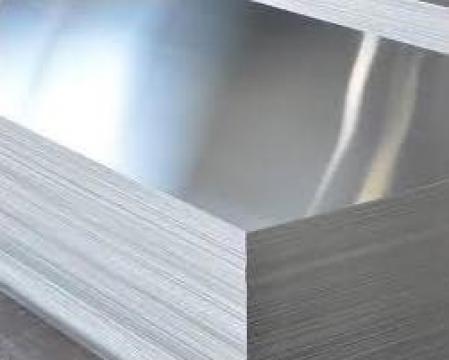 Tabla aluminiu 1x1000x2000mm lisa mata aluminiu nealiat 1050 de la MRG Stainless Group Srl