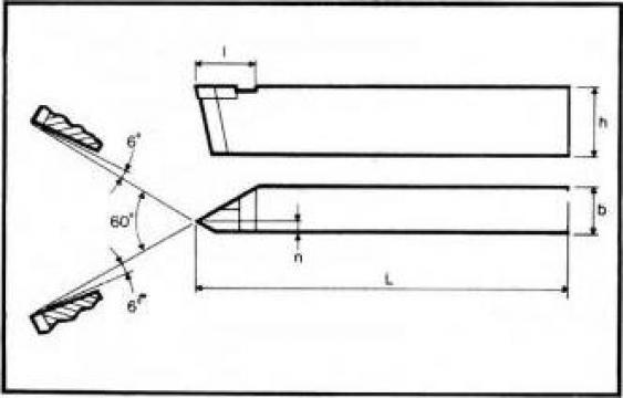 Cutite strung filetare exterioara DIN 282 de la Proma Machinery Srl.