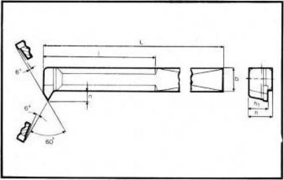 Cutite strung filetare interioara DIN 283 de la Proma Machinery Srl.